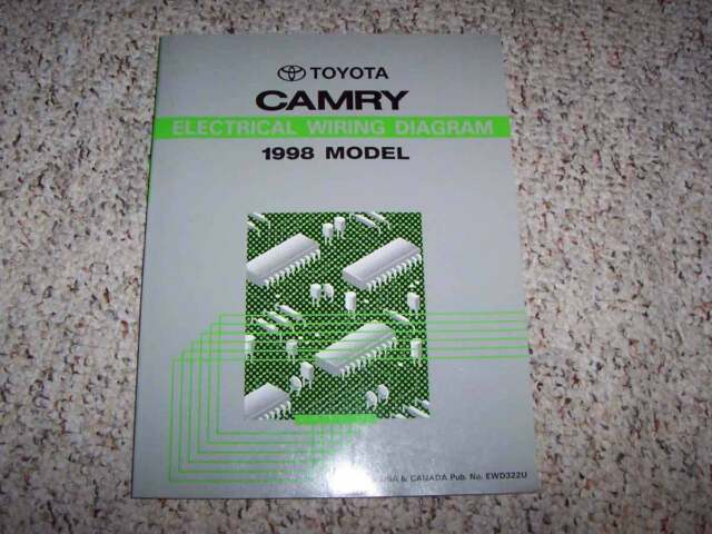 1998 Toyota Camry Electrical Wiring Diagram Manual Ce Le