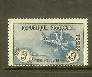 FRANCE-STAMP-TIMBRE-N-155-034-ORPHELINS-DE-GUERRE-5F-5F-MARSEILLAISE-034-NEUF-x-TB