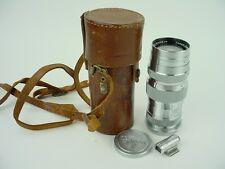 Canon RF 13.5cm f/4 Serenar Rangefinder Lens & Finder 4 Digit serial #5137