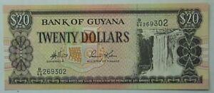 Guyana-uncirculate-20-bank-note