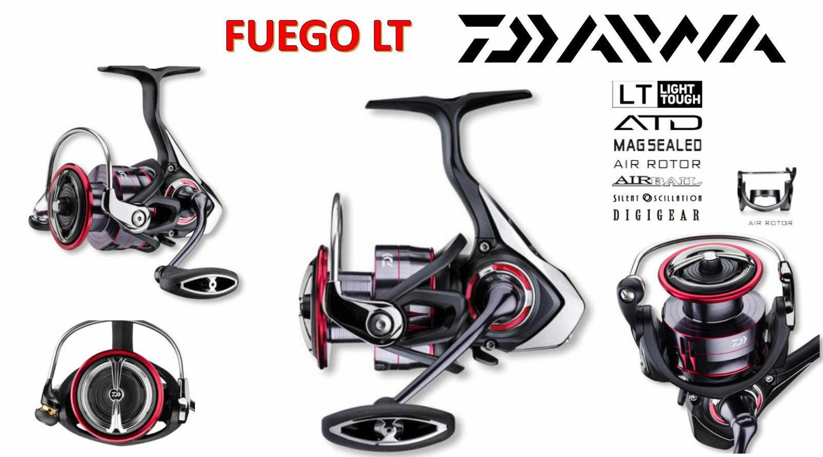 Daiwa Fuego LT 1000D 2000D 2500D 3000D-C 3000CXH 4000D-C 6000D MAGSEALED-role
