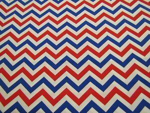 Patriotic-48968-Red-White-Blue-Chevron-Zig-Zag-Striped-Cotton-Fabric-1-2-YARD