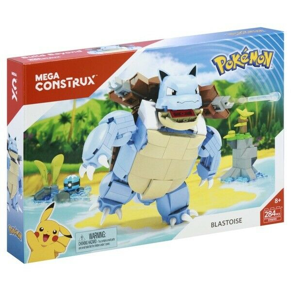 BLASTOISE Mega Construx Pokemon 284 pieces NEW