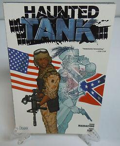 Haunted Tank Marraffino Flint Vertigo DC Comics Trade Paperback TPB Brand New