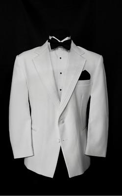 50 R Stunning Black European Shawl Satin Trim Tuxedo Coat Pants Vest Tie TUXXMAN