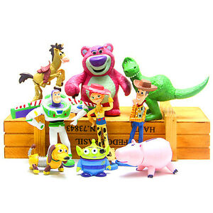 9Pcs-Lot-Toy-Story-3-Action-Figures-Doll-Woody-Buzz-Lightyear-Rex-Toy-For-Kids