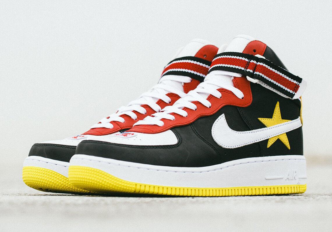 Nike air force di alto x rt riccardo tisci nero star aq3366-600 af1 nba
