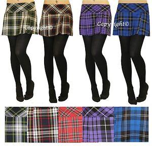 c9ae93d650e03 Ladies Short Box Pleat Pleated Skirts Micro Mini 14