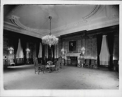1940 President Roosevelt State Dining Room White House ... 1940s White House Scottie