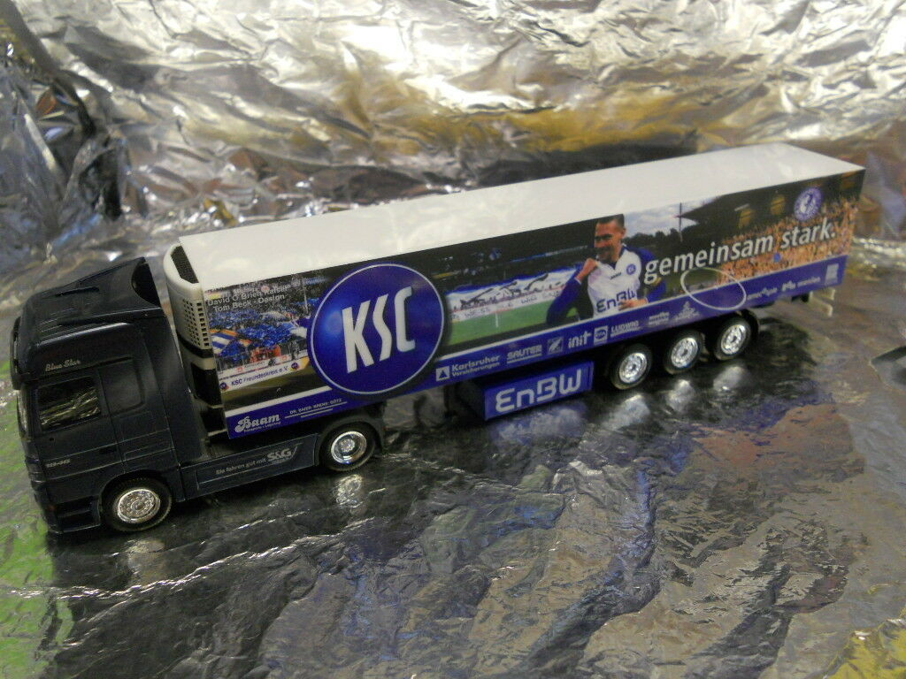 Herpa 275392 MB Actros LH 02 Refrigerated Box Semitrailer  Baam KS 1 87 Scale