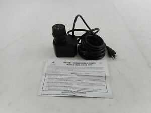 Beckett Corporation G250AG - 250 GPH Submersible Pond Pump, Black- OPEN BOX