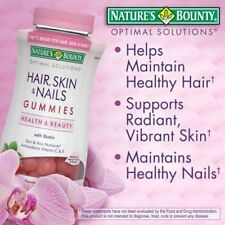Nature's Bounty® Hair, Skin and Nails, 230 Gummies -NEW..!! |NO SALES TAX|