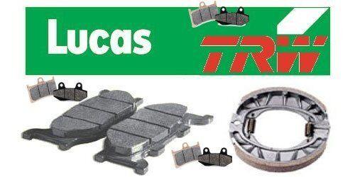 06-09 hinten TRW Bremsbeläge Honda CBF 1000 SC58 Bj