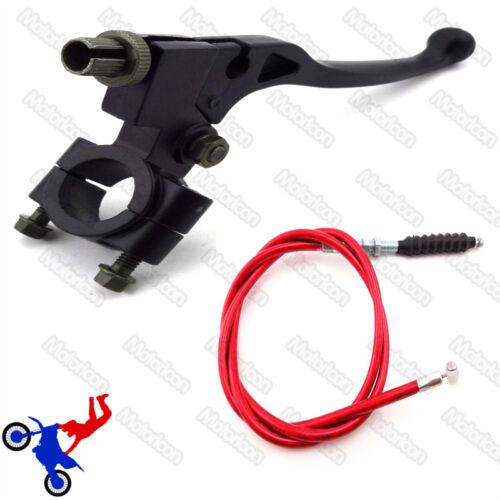 Levier d/'embrayage câble rouge pour chinois honda pit dirt bike CRF50 xr 125cc apollo dhz
