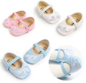 Newborn Baby Boy Soft Sole Pram Shoes Toddler PreWalker Summer Sandals Size 0-18