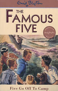 Five-Go-Off-To-Camp-Book-7-Famous-Five-Blyton-Enid-Good-Fast-Delivery