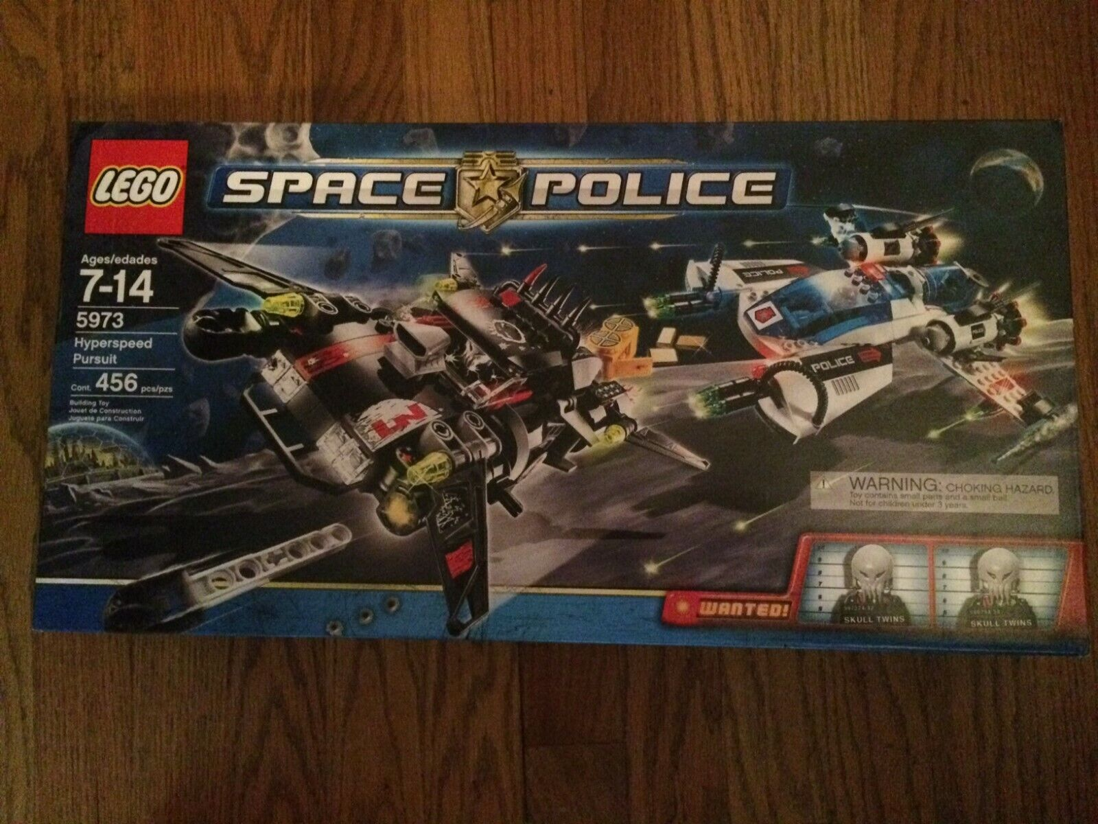 LEGO 5973 Hyperspeed Pursuit from  the spazio polizia Series nuovo in  Sealed scatola   molte sorprese
