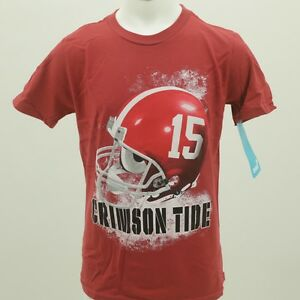 Alabama Crimson Tide Youth & Kids Size NCAA Football Official T Shirt New