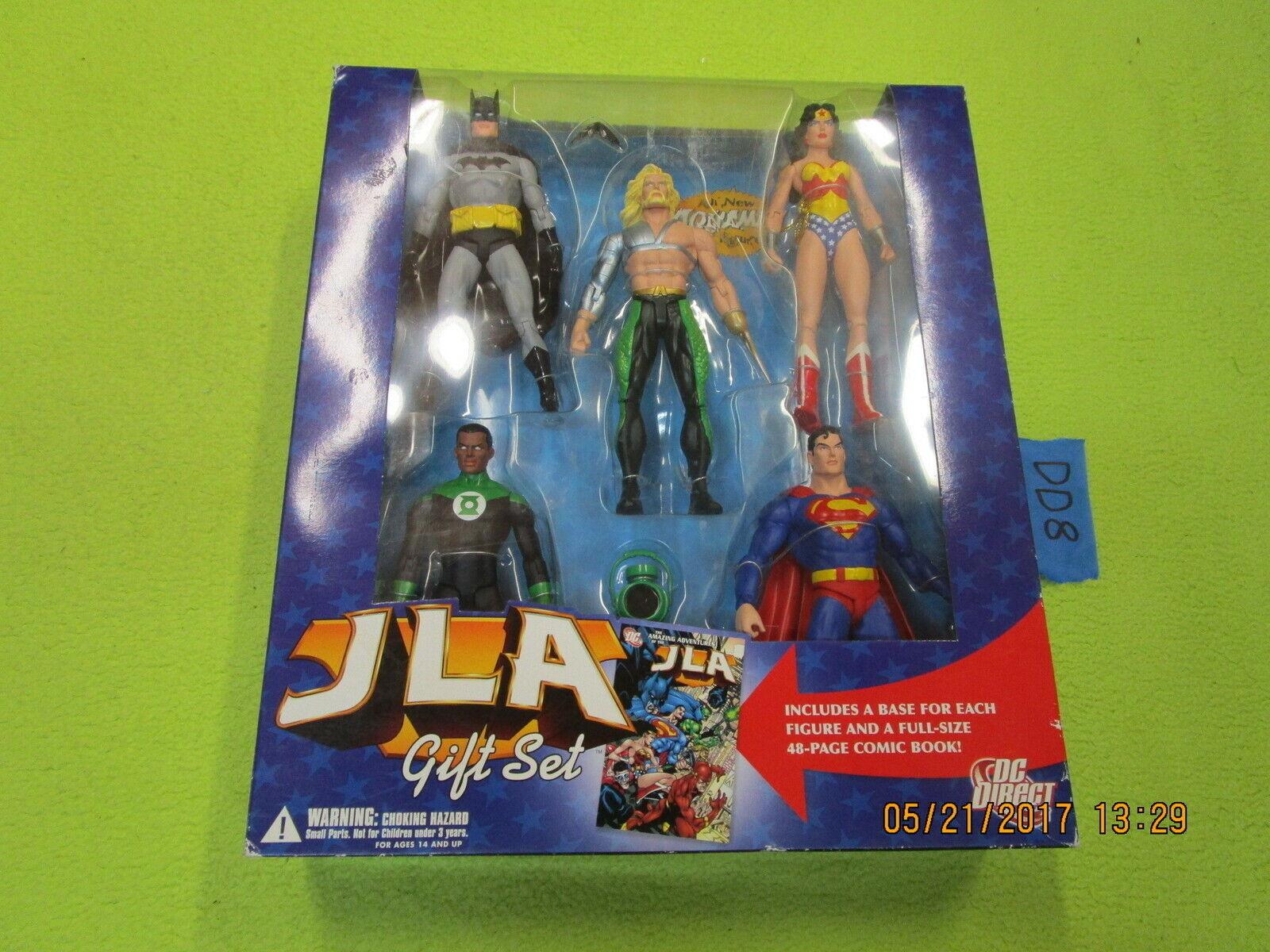 DC directa Lote Liga De La Justicia De América Conjunto de regalo Caja de 5 paquetes de Liga de la Justicia América súperman Batman