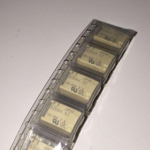10 X B3GA4.5Z FTR-B3GA4.5Z-B10 SMD MINIATURE RELAY 2-CONTA CT 1A