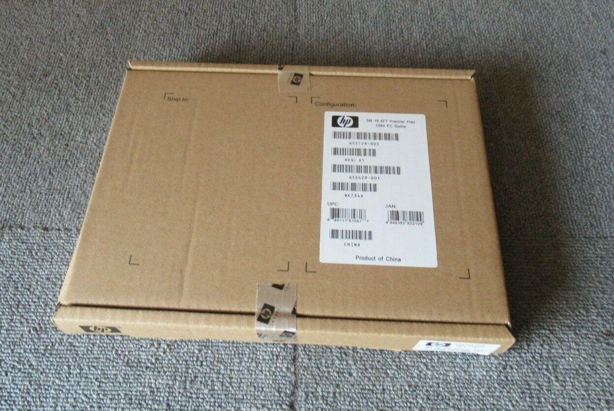New HP 653728-003 656429-001 5M OM4 Premier Flex LC/LC Multi-Mode Fibre Cable