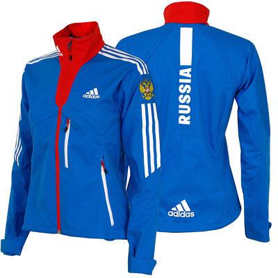 adidas Damen Cross Country Jacke Team Russia Olympia