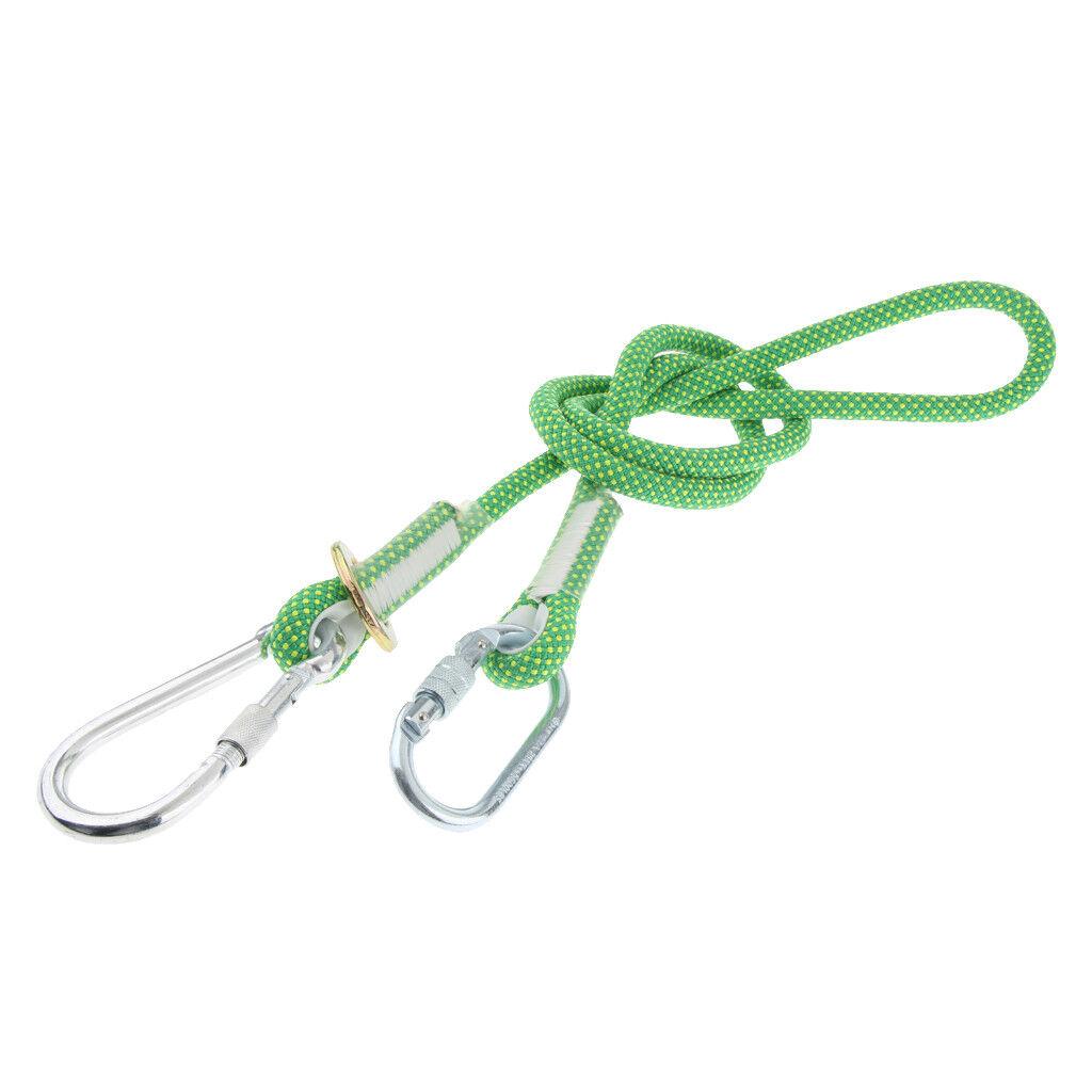 Kletterseil Sicherheitsseil Sicherheitsseil Sicherheitsseil Polyester Survival Seil mit Haken für im Freien 1eb841