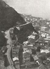 D0586 Bagnara Calabra - Strada Borbonica a Terrazzi - Stampa - 1930 old print