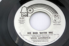 Vicki Lawrence: He Did With Me / Mr. Allison  [Unplayed Copy]
