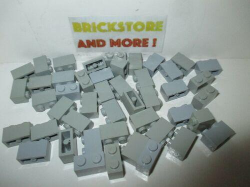 x40 Brick Brique 1x2 2x1 3004 Gray//Gris//Grau Lego Choose Quantity x4