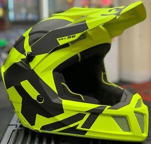 New 2020 FXR Clutch CX Black//White MX Motocross Enduro Helmet
