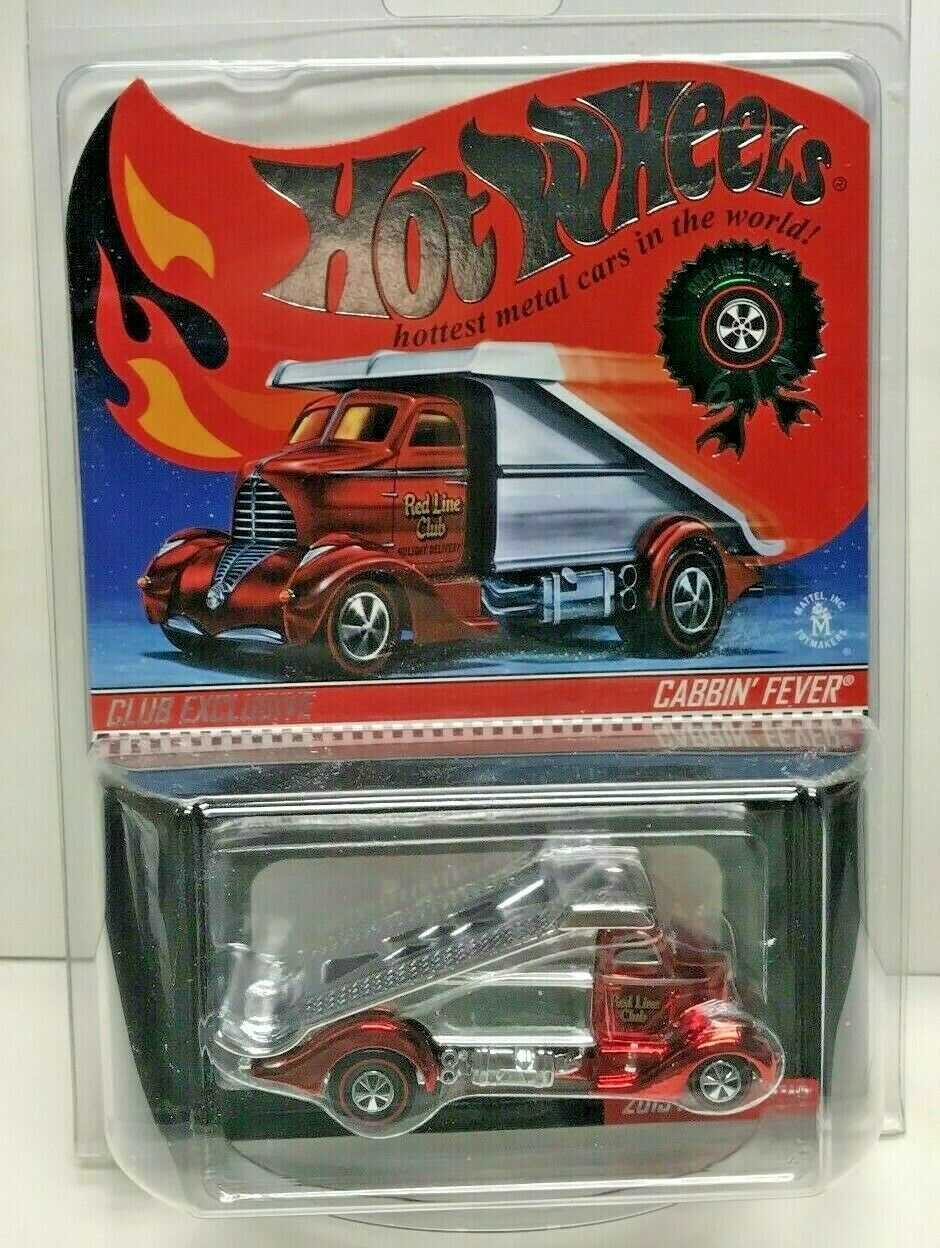 Hot Wheels 2015 Red Line Club Rlc Holiday Auto - Cabbin' Fever D 1533 4500