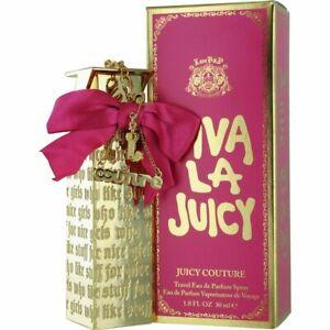 Viva-La-Juicy-by-Juicy-Couture-Travel-Eau-De-Parfum-Spray-1oz-30-ml-Boxed-RARE