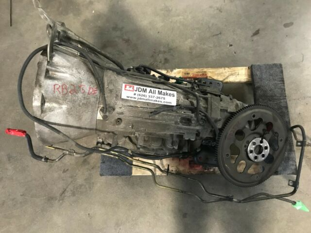 JDM R34 Nissan Skyline RB25DE Neo Non Turbo Engine Rb25 Motor AWD Manual  Trans