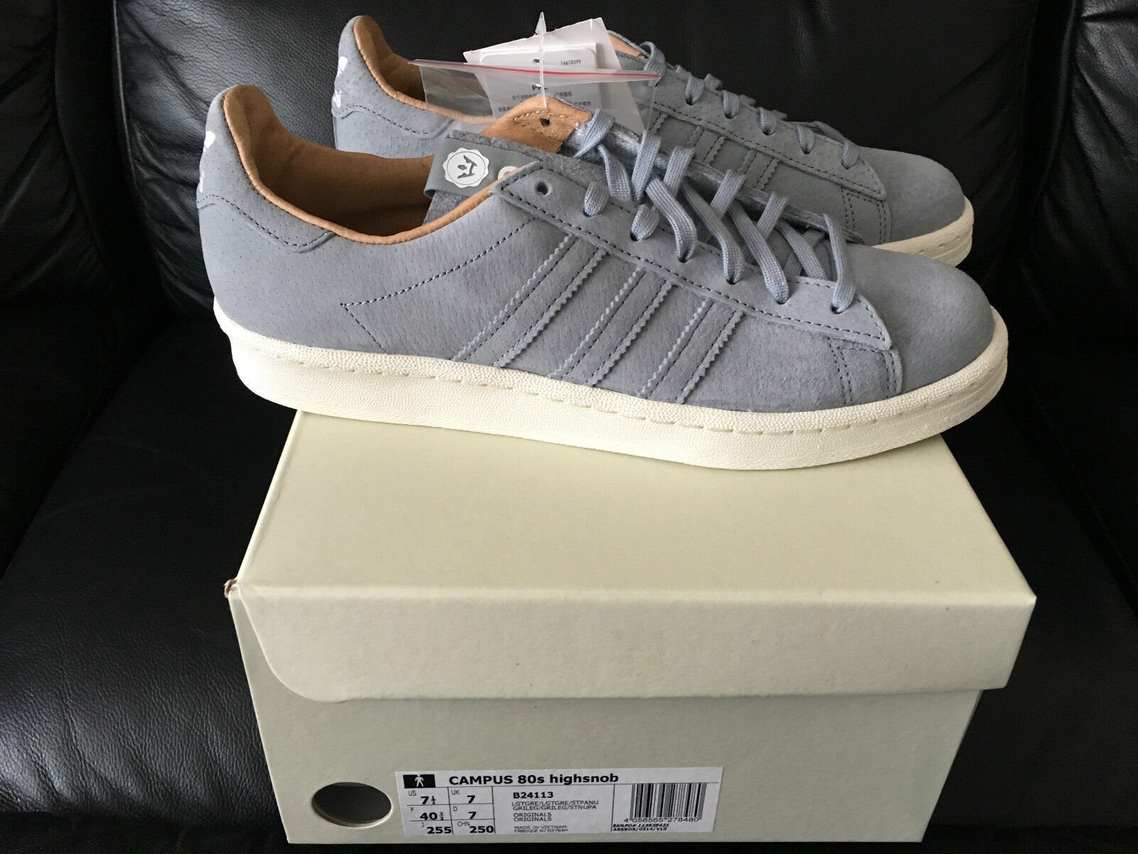 ADIDAS CONSORTIUM X HIGH SNOBIETY CAMPUS 2018 Taille7 & 8  NEW