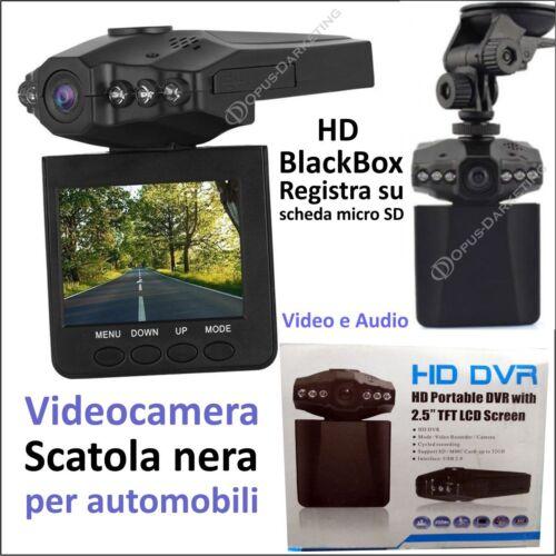 MINI TELECAMERA SCATOLA NERA DVR HD MONITOR 2.5 PER CHRYSLER