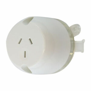 100-x-Plug-Base-Socket-Outlet-LED-LIGHTING-3-Pin-Socket-10AMP-240-250-Volt