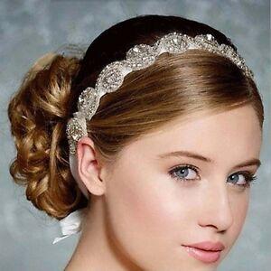 Braut-Haarschmuck-Strass-Haarband-Schmuck-Haargesteck-Hochzeit-Brautschmuck