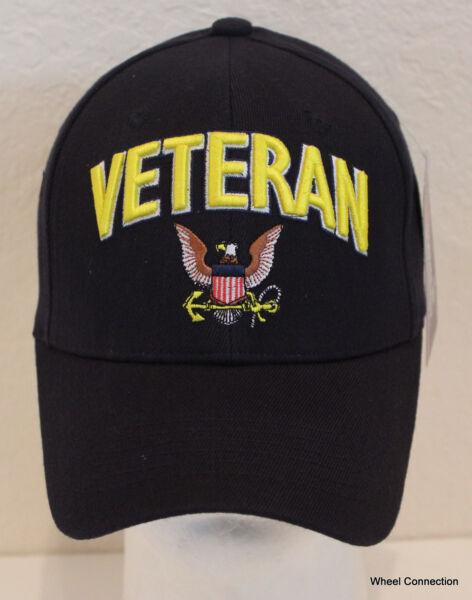 1c573b67eb4 US Navy Black Hat Naval Seal Military Ball cap Eagle with Anchor Cap Veteran
