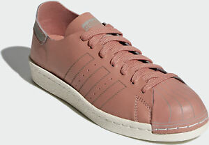 sale retailer f3e0e 8604f Image is loading Adidas-Originals-Superstar-80s-Decon-Ash-Pink-Off-