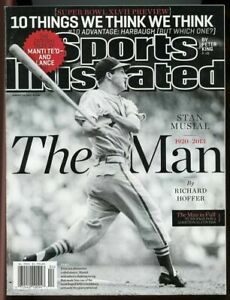 SI: Sports Illustrated January 28, 2013 The Man Stan Musial 1920-2013 G