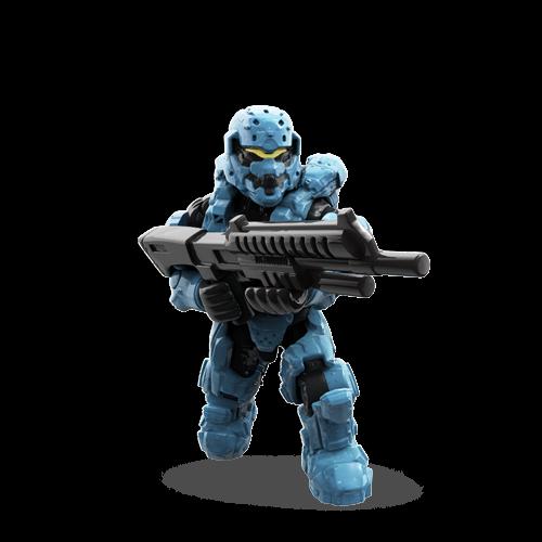 MEGA BLOKS Halo Blind Bag Series Charlie - Spartan Soldier A08 CNC84 Sealed!