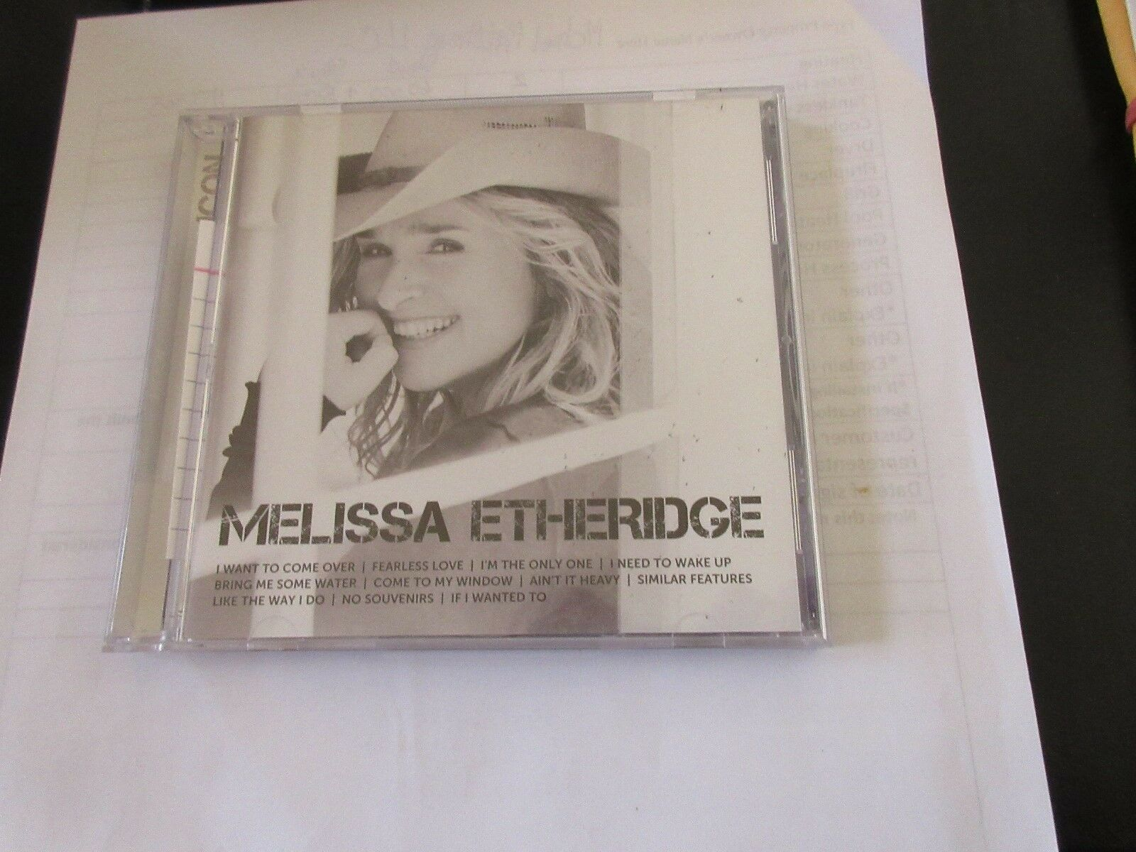 Melissa Etheridge . ICON , CD