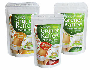 grüner kaffee robusta arabica gemahlen abnehmen diät goji beeren