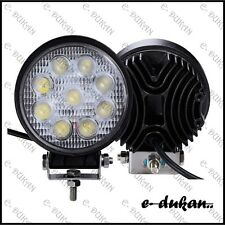 9 CREE 27W LED OFF ROAD/FLOOD LIGHT BAR FOG LAMP FOR ROYAL ENFIELD BIKE CAR- 1pC