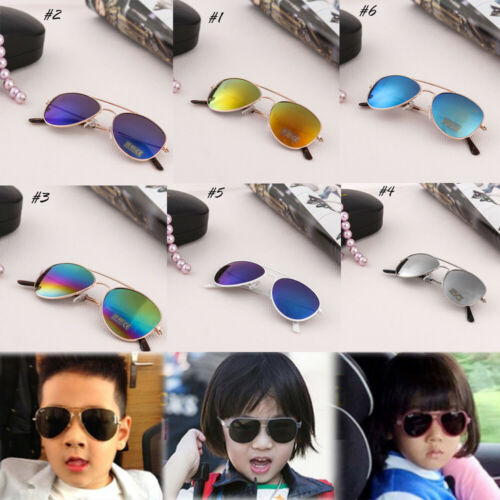 2019 New Toddler Sunglasses Goggles Kids Fashion Boys Stylish Baby Frame Outdoor