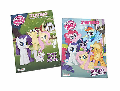 - My Little Pony Coloring Book Friendship Is Magic Kids Activity Books Set Of  2 EBay