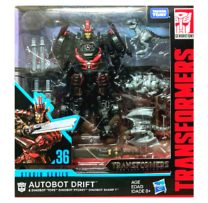 (InHand) Transformers Studio Series Deluxe Drift with Baby Dinobots Figure New
