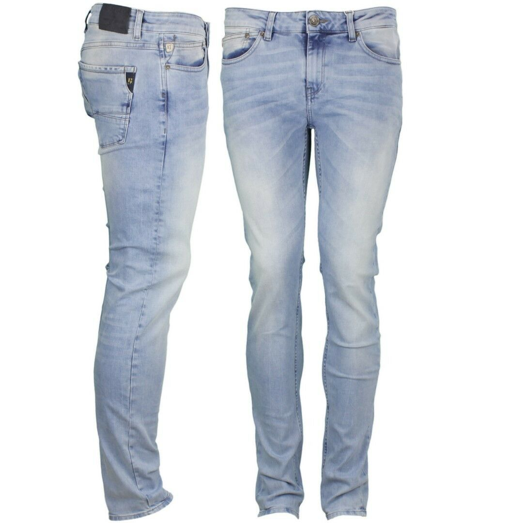 Garcia Jeans Hose Slim Fit hell blue Used Look Fermo 650 2068
