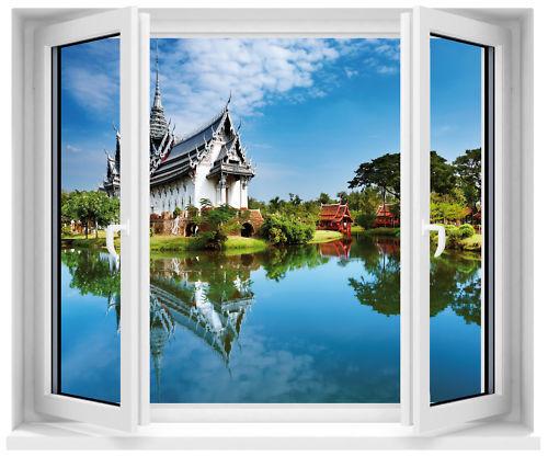 Aufkleber Fenster Schein Auge Tempel Ref 701